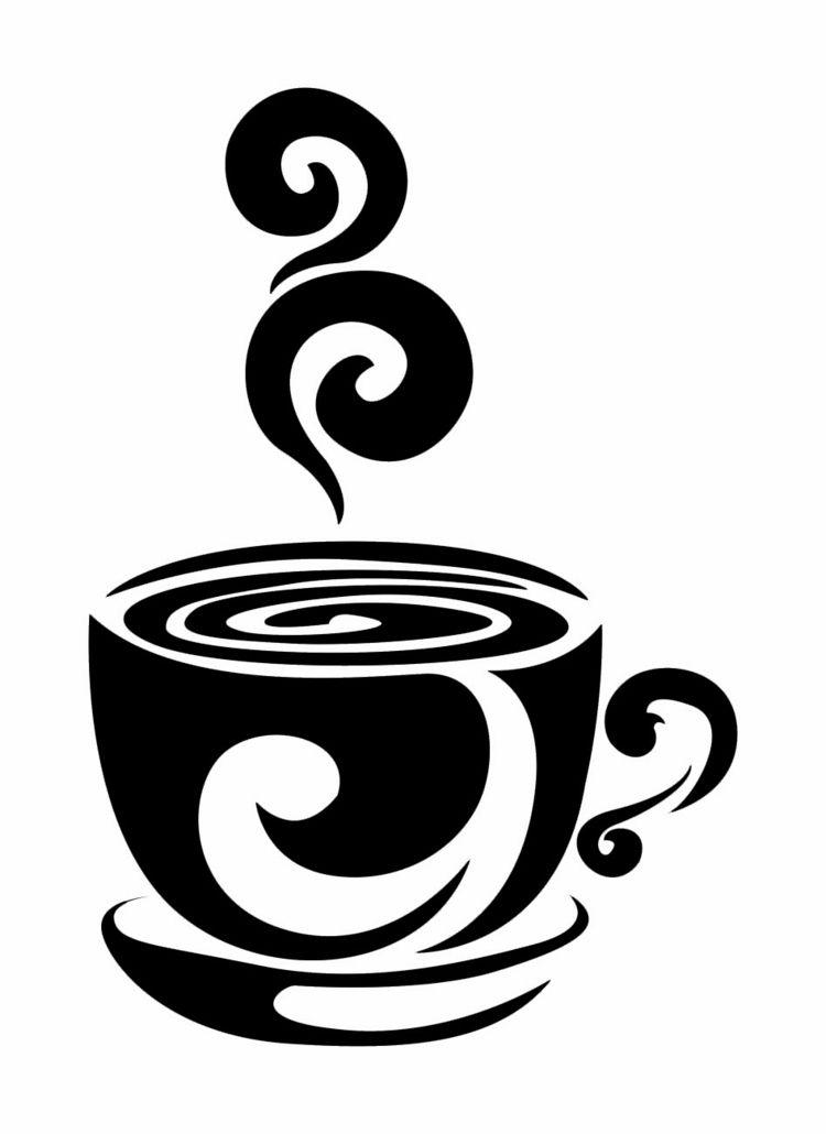 wandschablonen ausdrucken tasse kaffee unterteller muster vorlage m bel schablonen vorlagen. Black Bedroom Furniture Sets. Home Design Ideas