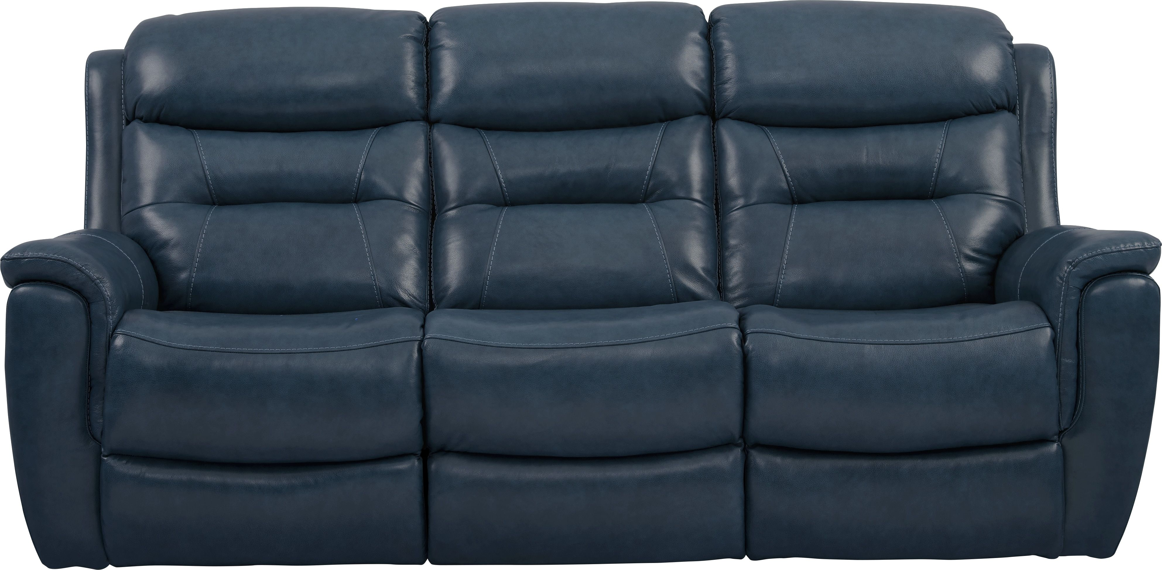 Wondrous Sabella Navy Leather Reclining Sofa In 2019 Leather Short Links Chair Design For Home Short Linksinfo