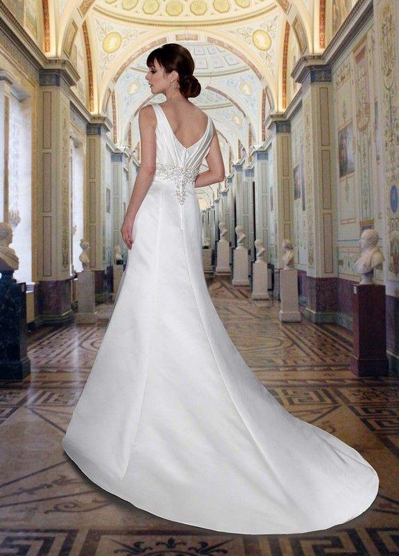 Da vinci 8373 wedding dresses destination wedding for Destination plus size wedding dresses