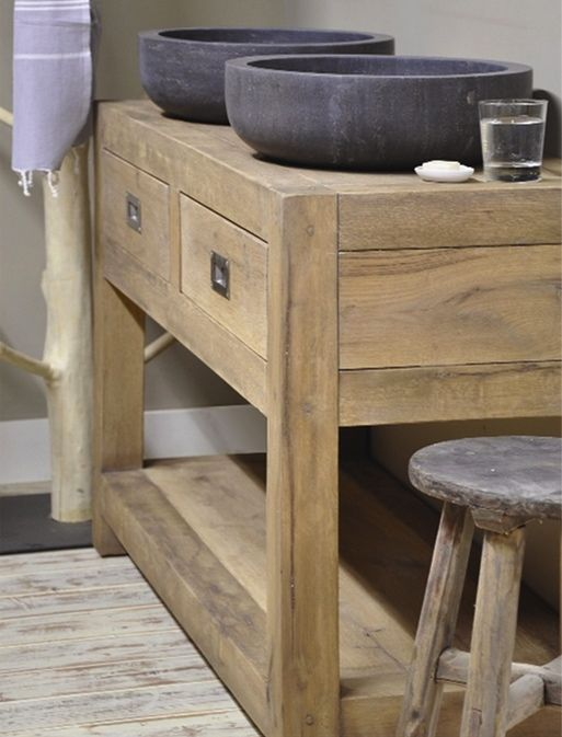 badkamer-restyleXL-meubel   bathroom   Pinterest   Concrete basin ...