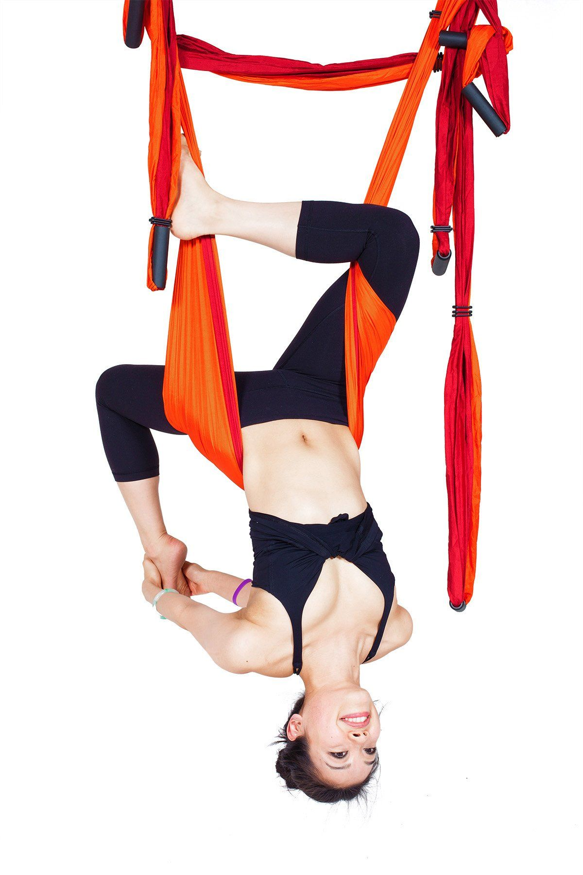 Yoga trapeze orange yoga swingslinginversion tool here you go