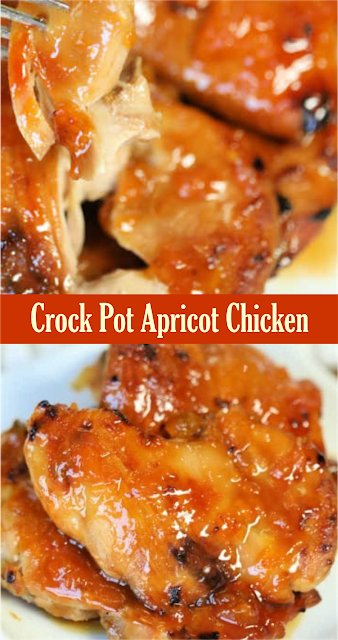 Crock Pot Apricot Chicken | Amzing Food