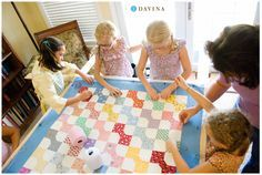 american girl kirsten quilting bee - Google Search