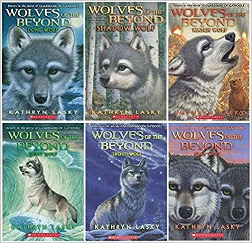 Wolves Of The Beyond Series Complete Set Books 1 6 Lone Wolf Shadow Wolf Watch Wolf Spirit Wolf Frost Wolf St Shadow Wolf Kathryn Lasky Wolf Book
