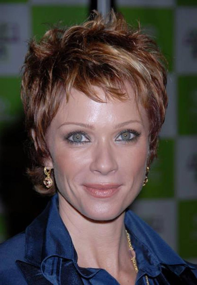 Image result for short haircuts for women over back view short