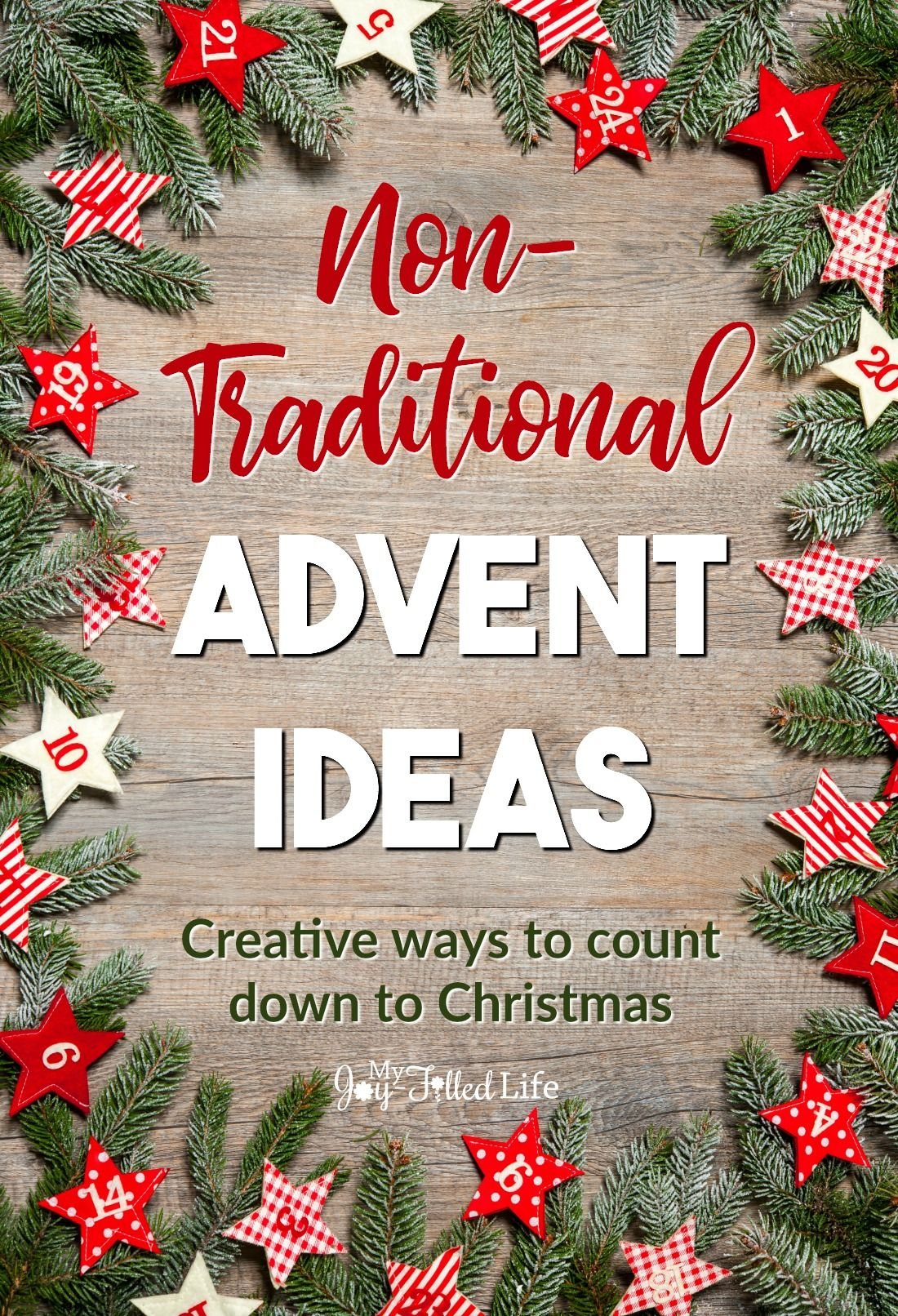 Non Traditional Advent Ideas Advent Calendars For Kids Christmas Advent Calendar Christmas Advent