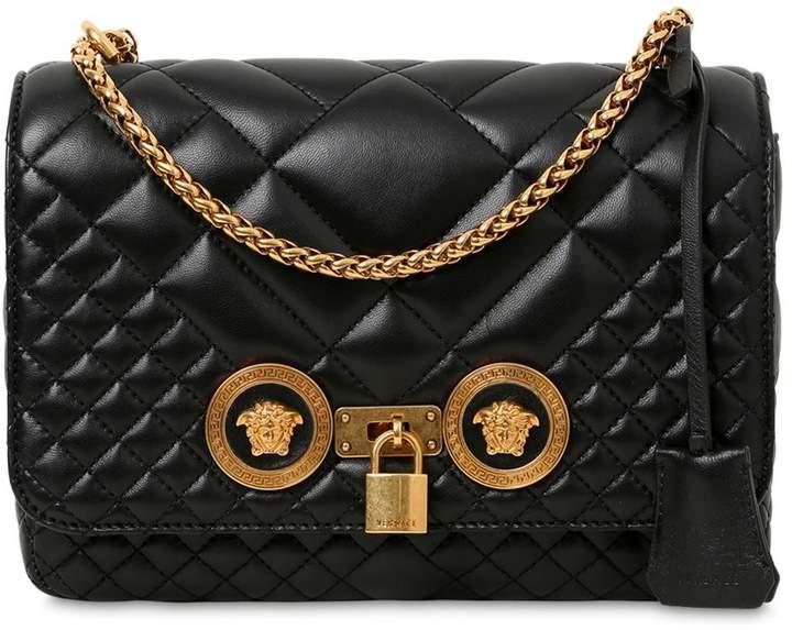 Versace Medium Quilted Icon Shoulder Bag  b42d56faf7046