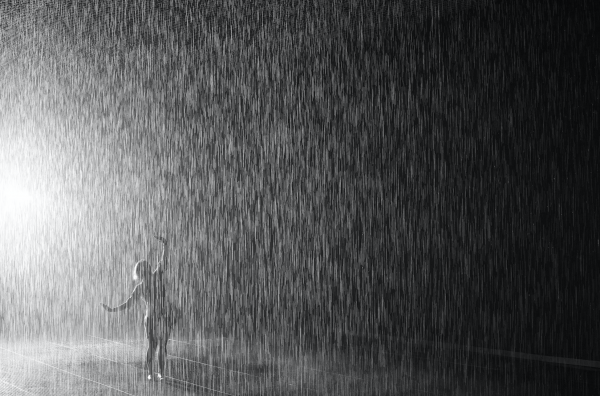 Los Angeles County Museum of Art 'Rain Room' Art