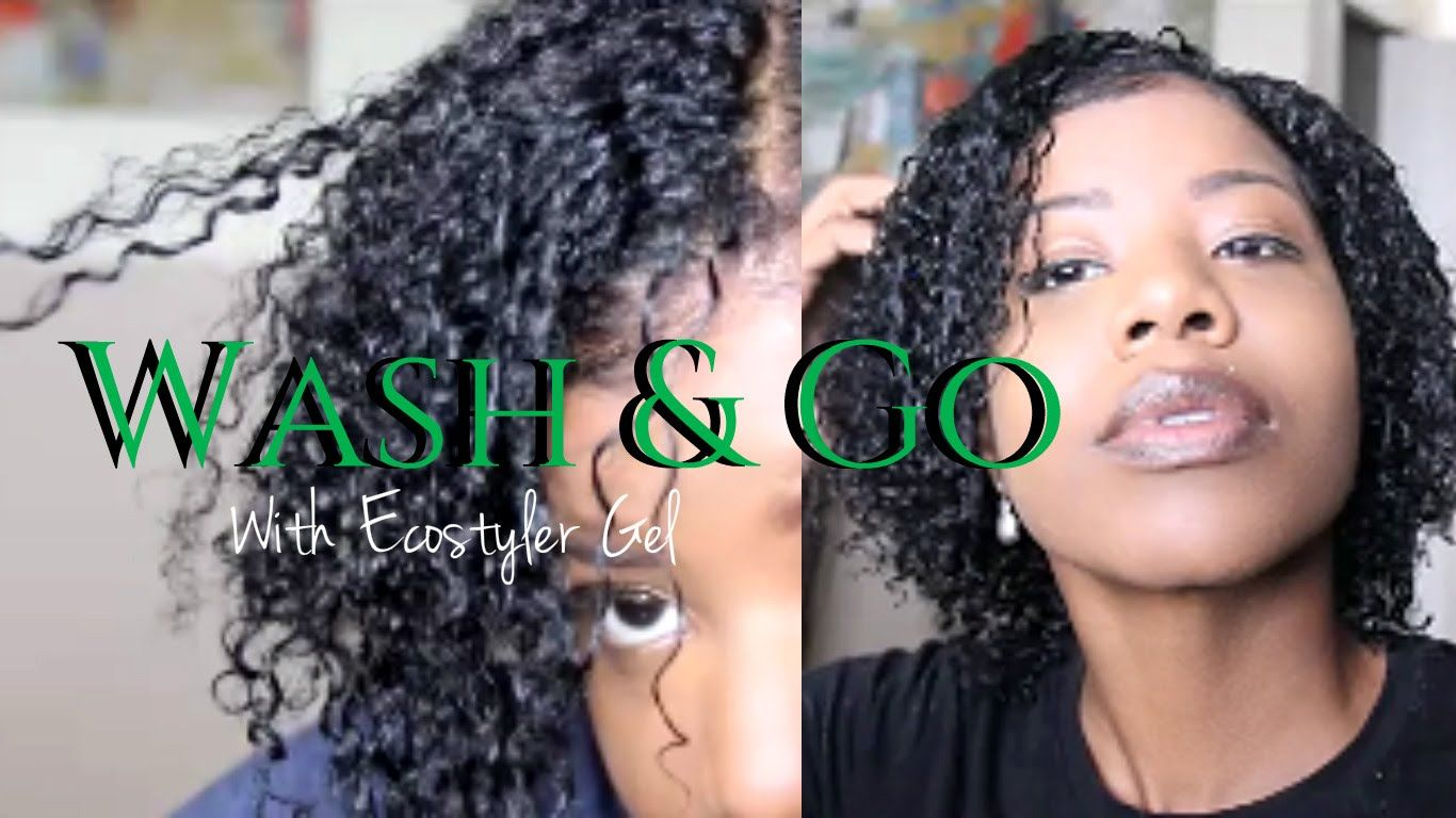 Wash N Go With Ecostyler Gel Only 4a 4b Teeday6 Natural Hair Styles Natural Hair Twist Out Natural Hair Twists