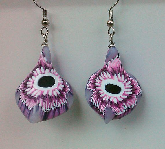 Little Pink Jellyfish by beadsbyme4u on Etsy.