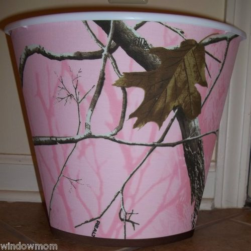 Merveilleux Pink Real Tree Camo Trashcan. I Have Been Looking For This In Pink. For