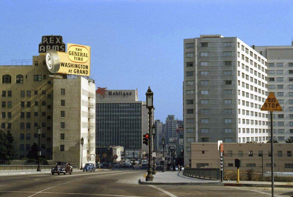 Лос-Анджелес, 1950 год. | Лос анджелес и Старые фото