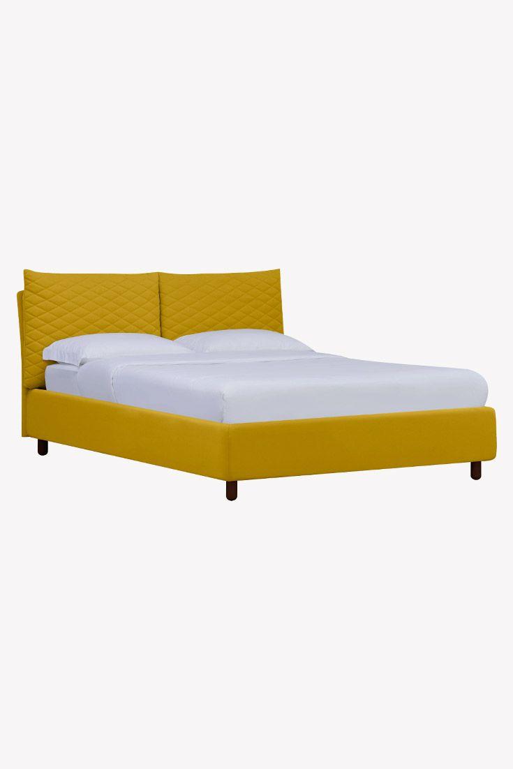 Bett Versa Ii Gelb Bett Bett Mit Bettkasten Schlafzimmer