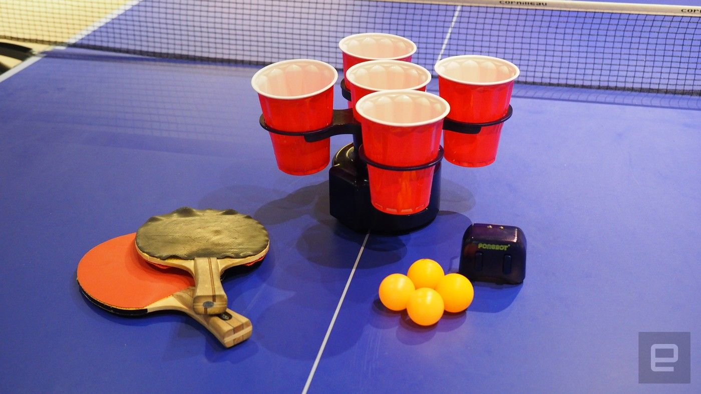 The Pongbot makes beer pong actually challenging How to