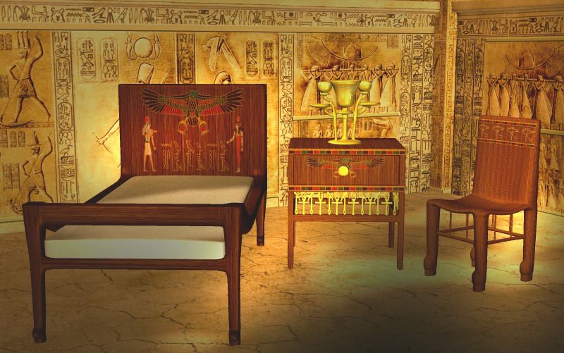Sensational Image Result For Ancient Egypt Queens Bedroom Egyptian Ocoug Best Dining Table And Chair Ideas Images Ocougorg