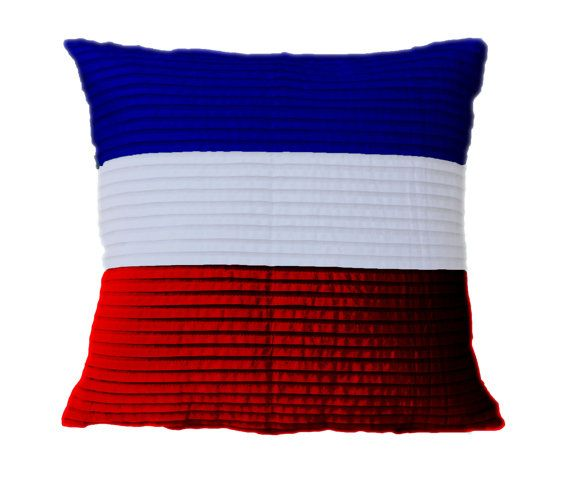 4th of July cotton pillow cover  Freedom Throw by AmoreBeaute