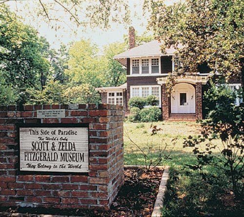 Scott & Zelda Fitzgerald home/museum. ❤❦♪♫ Daisy mocks the fitzgeralds house on a regular basis
