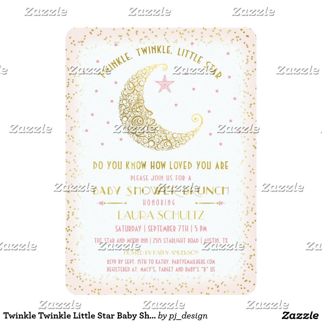 Twinkle Twinkle Little Star Baby Shower Brunch