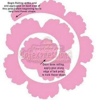 3 D Rose Svg Svg S Pinterest Rose Cricut And
