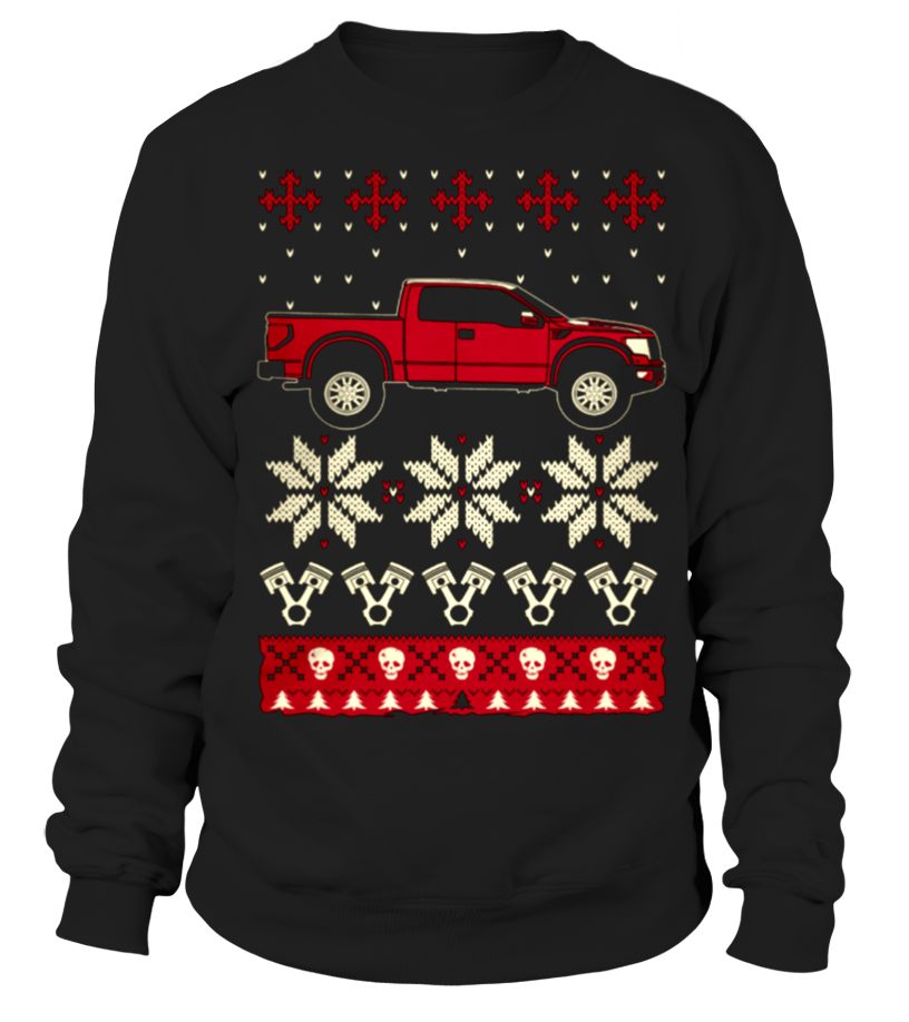 Raptor Car Ugly Christmas Sweater car shirts, classic car t shirts ...