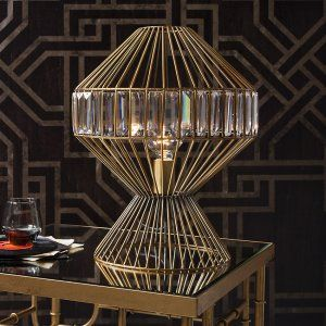 Rafferty wire cage jewelled table lamp 165x135 our bedroom rafferty wire cage jewelled table lamp 165x135 greentooth Choice Image