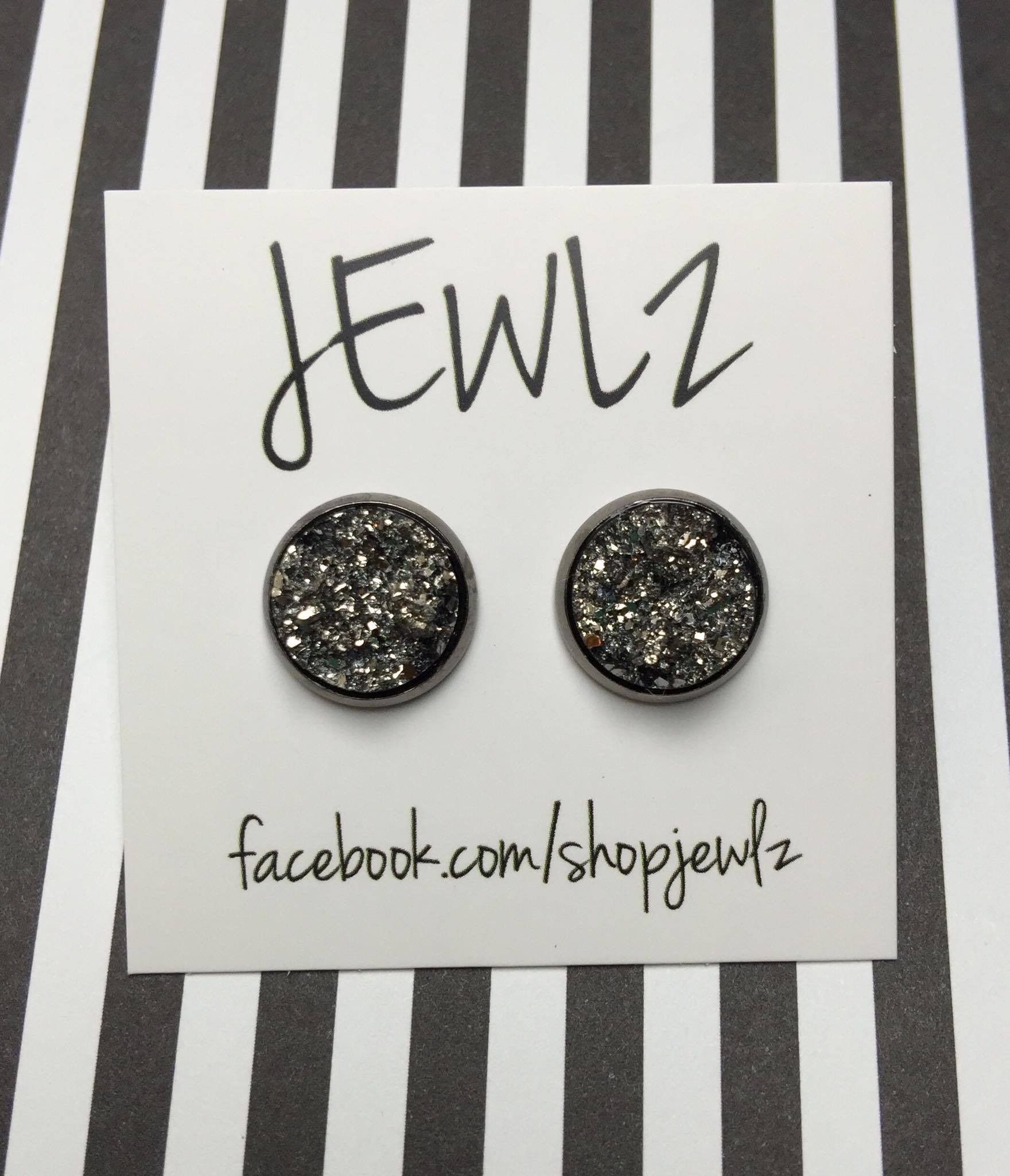 12MM GUNMETAL WITH GUNMETAL RIM