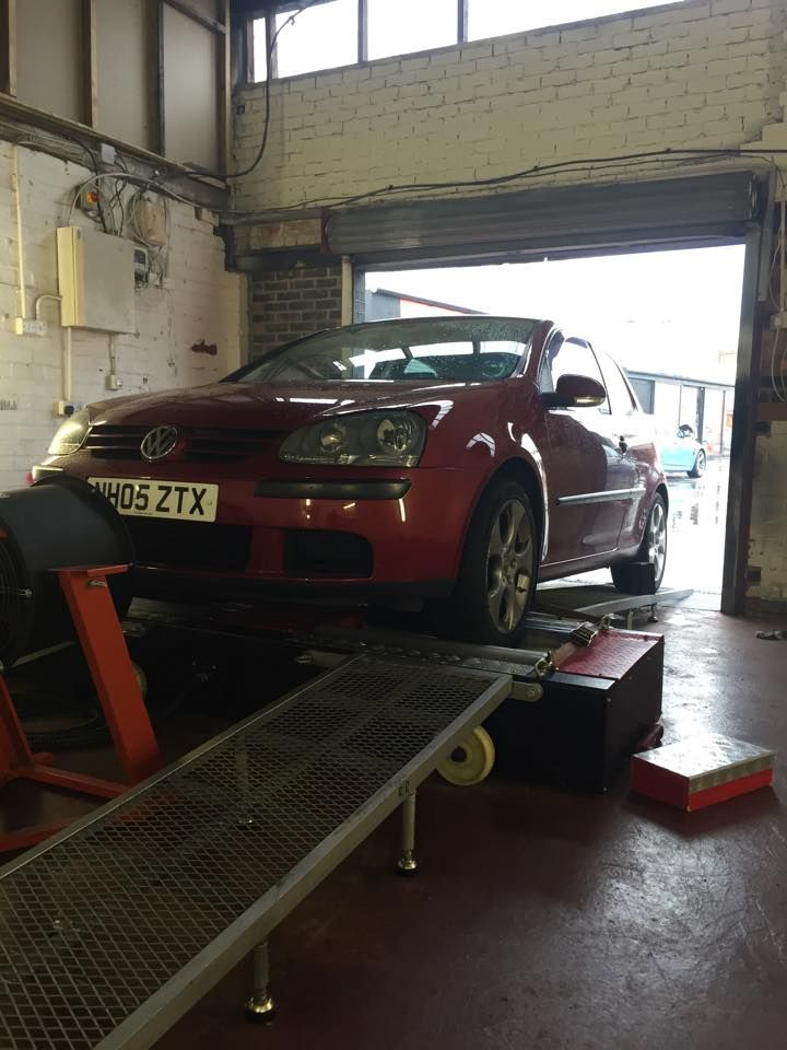 Volkswagen #Golf 105bhp in for #remap and #Dyno file from Alex and
