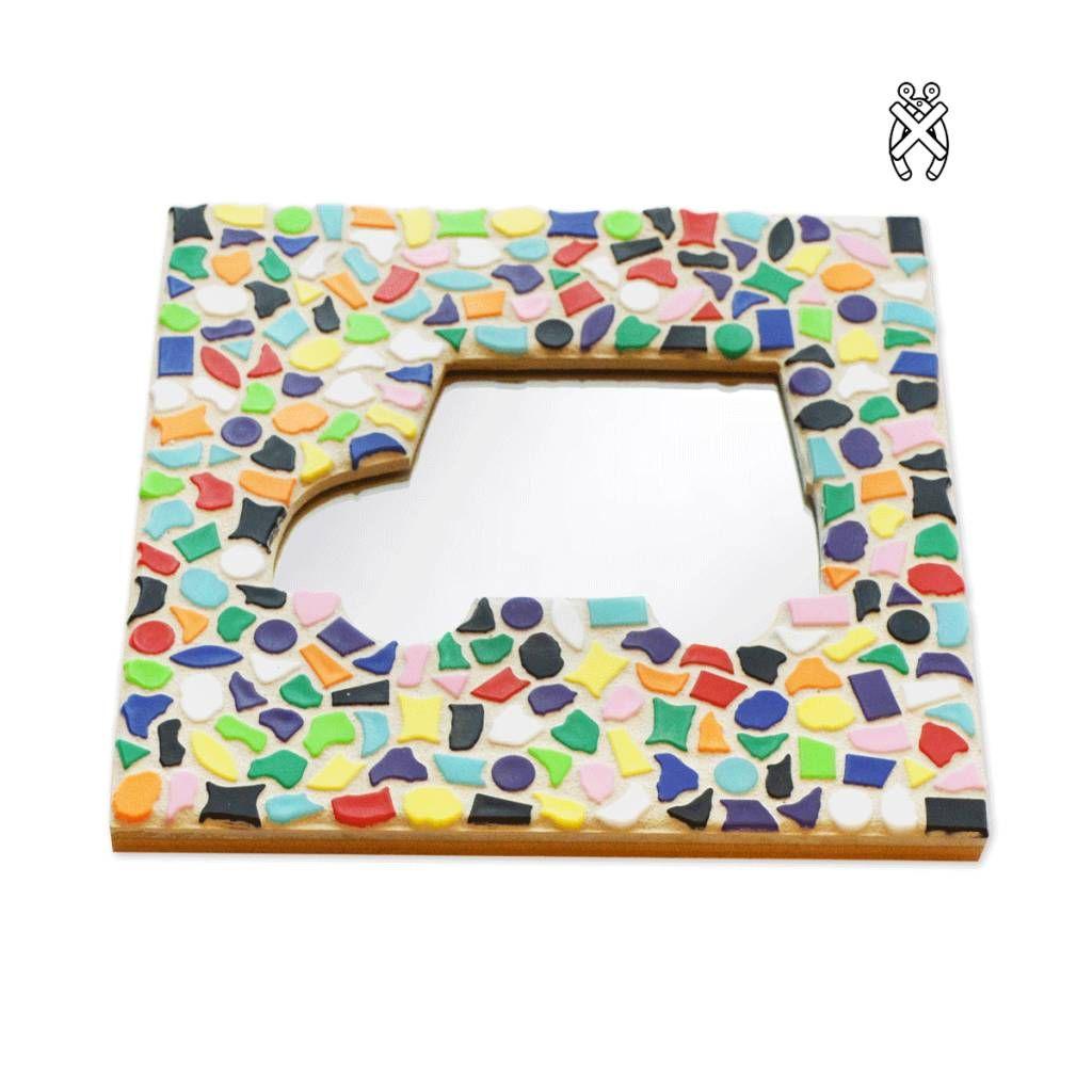 Mozaiek Pakket Spiegel Auto Voor Kinderen En Senioren Voor Kinderen Kinderfeestjes Kinderfeestje