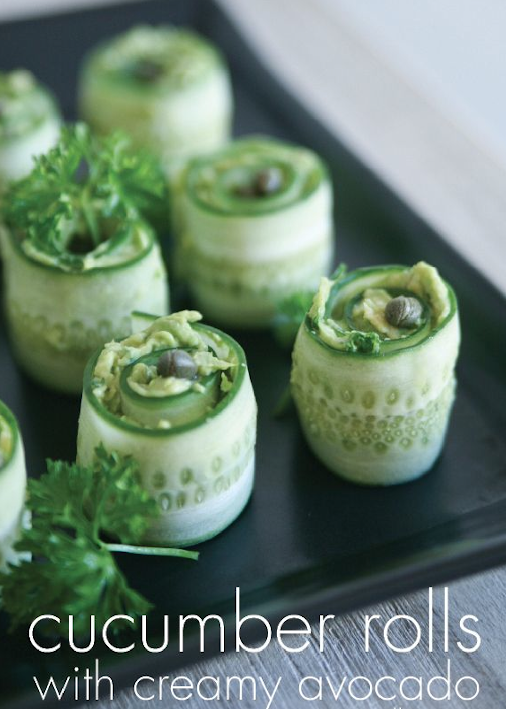 Italian sushi story come fare il sushi allitaliana food ideas healthy and delicious cucumber roll with creamy avocado simply the best healthy appetizer thats naturally gluten free dairy free vegan and paleo forumfinder Images