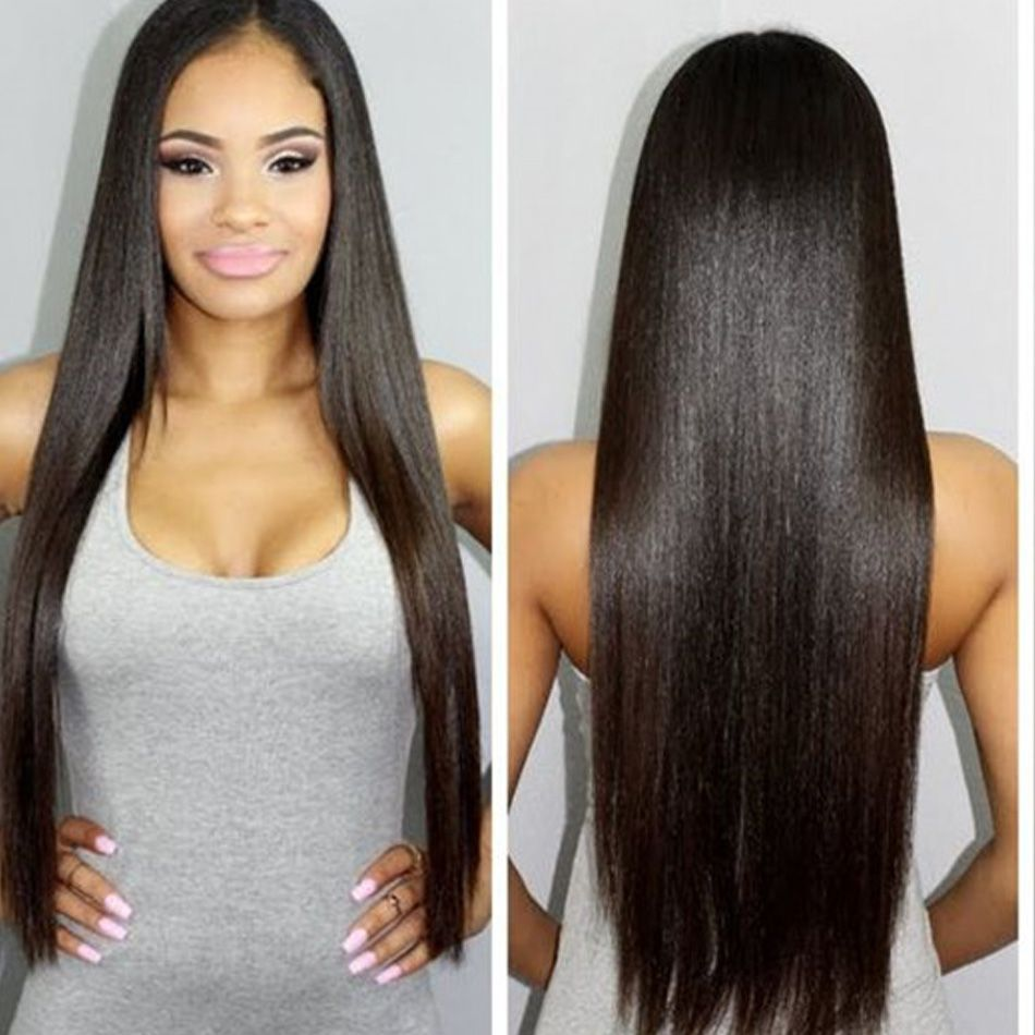 Hair Weaving 7a Straight Indian Virgin Hair 1 Bundle Raw Indian