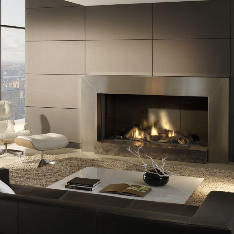 The Dru Cosmo Eco Wave Is A Substantial And Inspirational Gas Fire Designed  For Large Homes