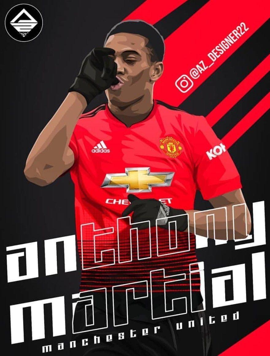 Anthonymatial Edit Manchester United Football Club Manchester United Football Manchester United