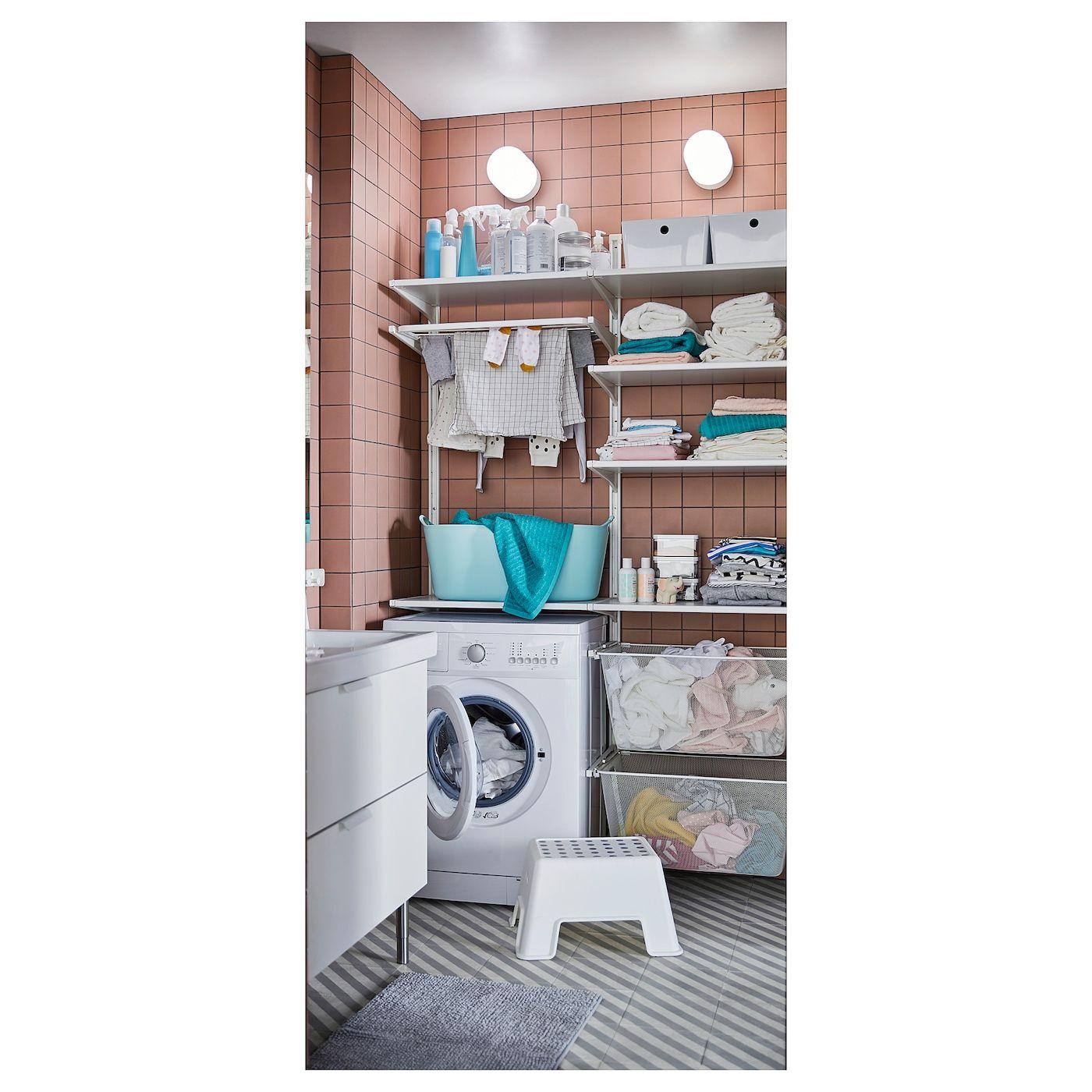 ALGOT WandschieneBöden Metall weiß IKEA | Wandschiene