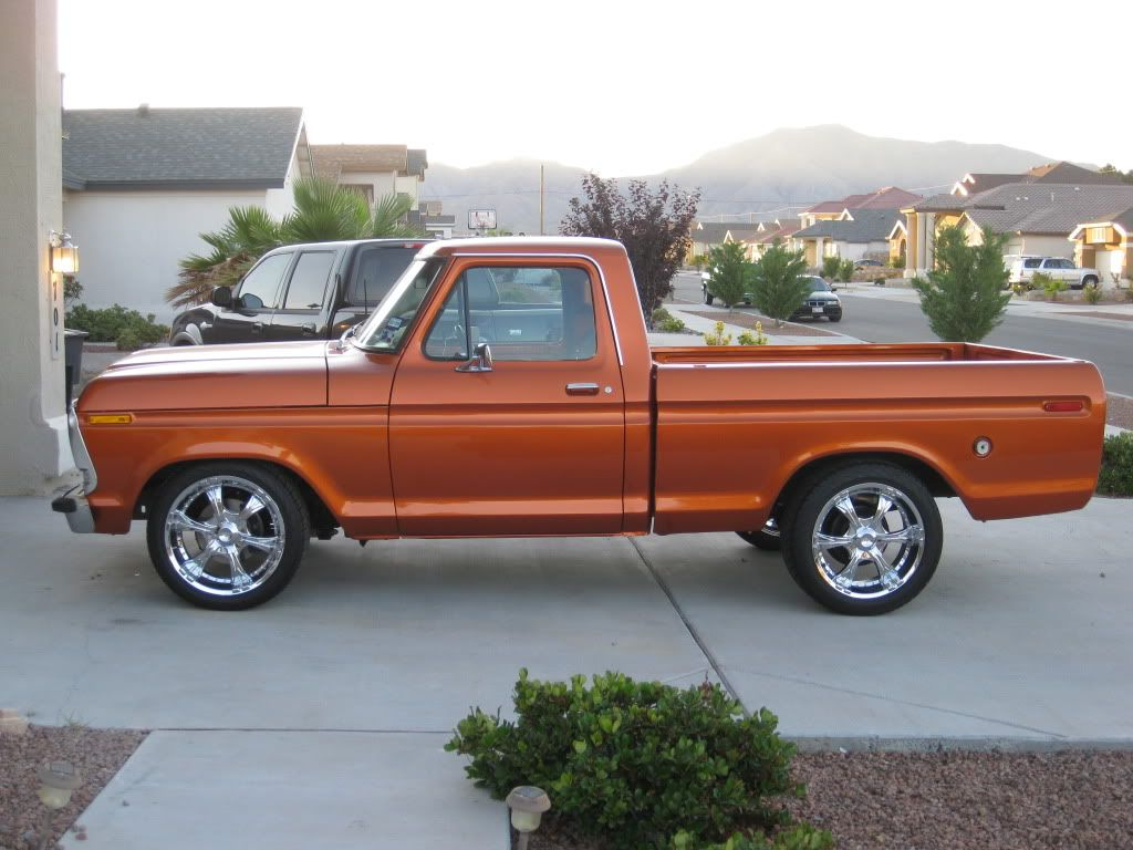 1976 Ford F100 And Thanks To All The People That Have