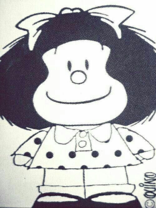Pin De Milagropolis En Munecos Lindos Dibujos De Mafalda Mafalda Dibujos Animados Sencillos