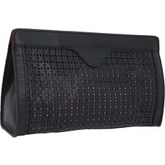 $89.60   BCBGMAXAZRIA Perforated Clutch