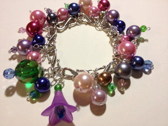 Please Repin :) Bubble Bauble Bracelet with Swarovski by BeautifulBaublesByJo, $25.00