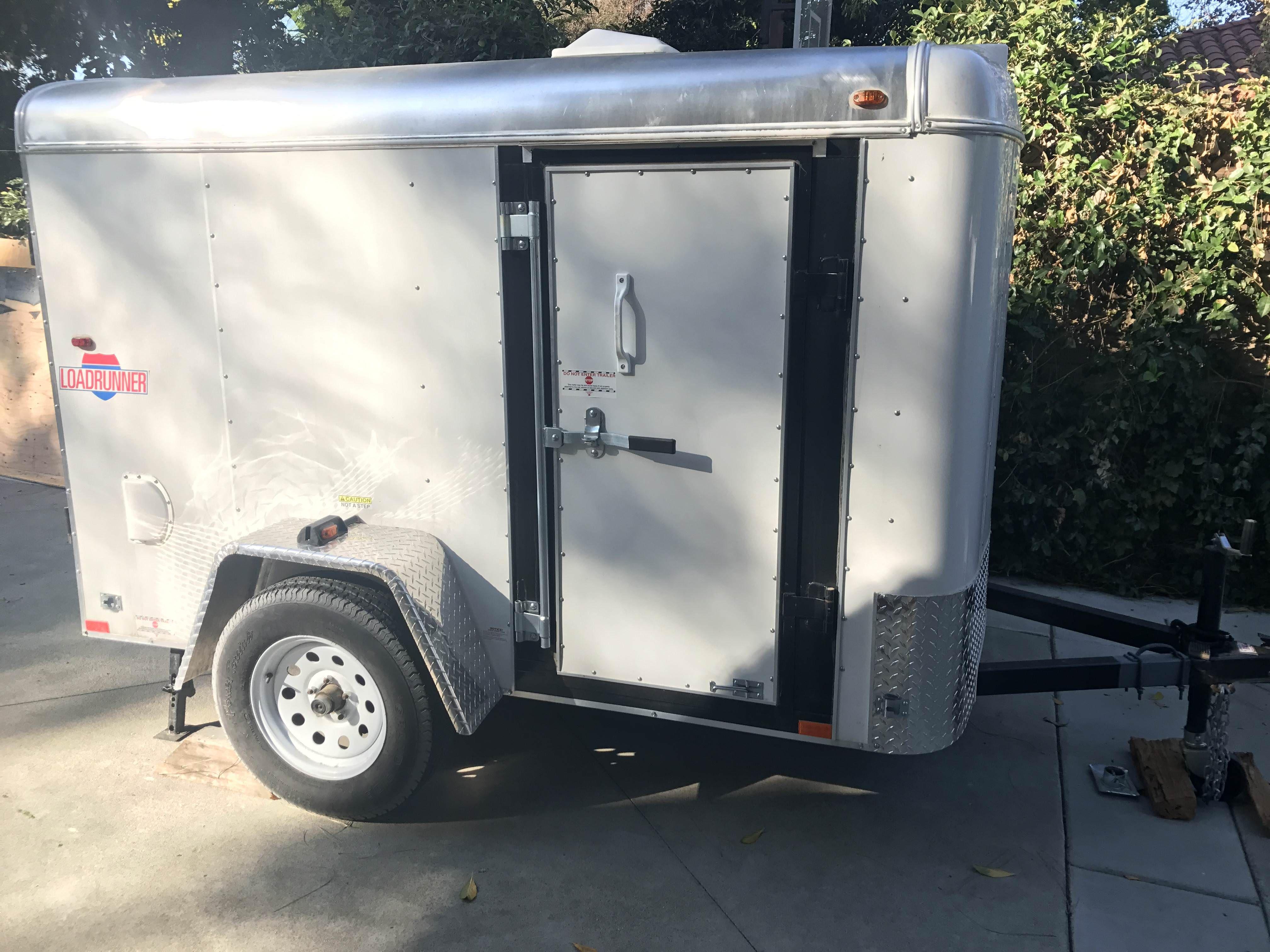 gwolff's Cargo Trailer Camper Conversion in 2020   Cargo ...