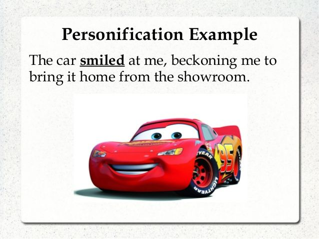 Image result for Personification with images ...