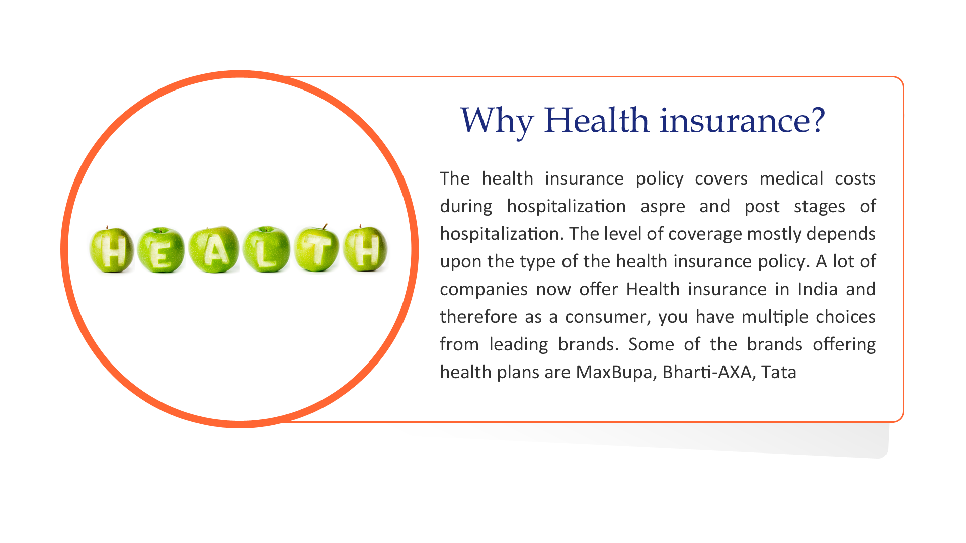 An Adequate Health Insurance Is The Best Financial Tool For