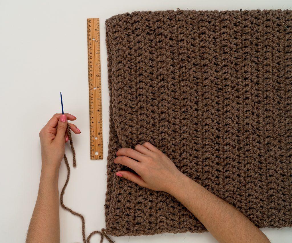 The Simple Chunky Crochet Sweater Pattern by BrennaAnnHandmade #crochetsweaterpatternwomen