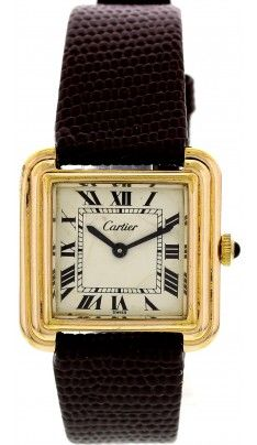 Ladies Cartier Santos Ronde Stainless Steel & 18K Gold