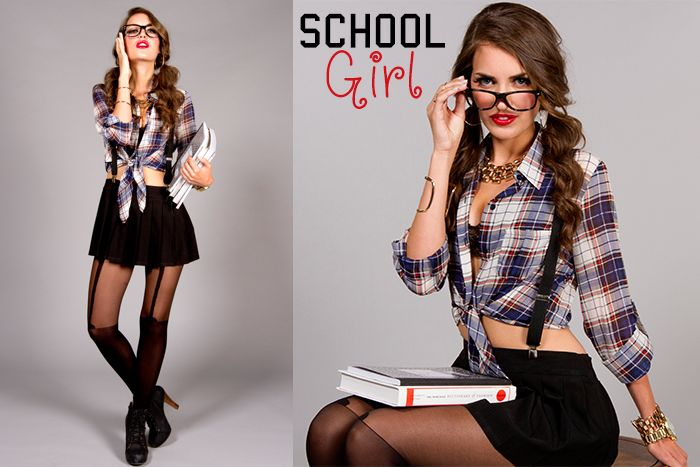 How To Put Together A School Girl Costume