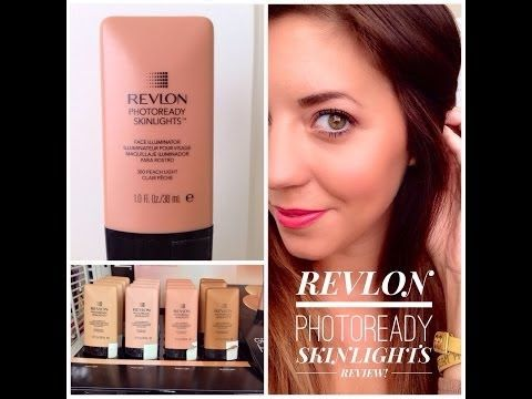 Revlon PhotoReady Skinlights Review Plus Demo! - YouTube