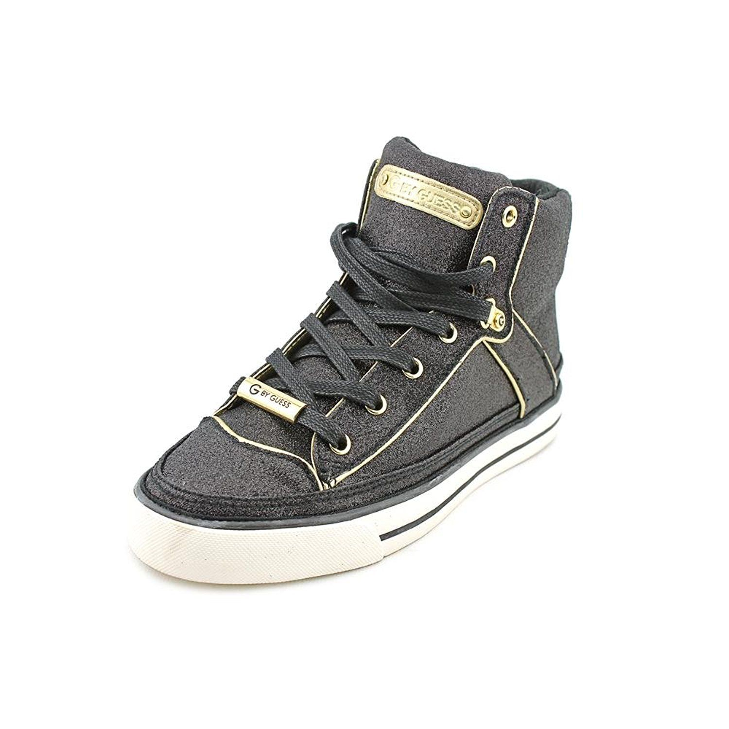126d97584 G By Guess Online Black multi Fabric Canvas Fashion Sneaker Womens Size M –  Best Deal of The Day
