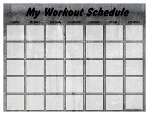 Tip From Coach Monica Schedule Your Workouts On A Calendar Just