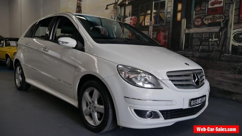 2007 Mercedes Benz B180 Cdi W245 White Automatic 7sp A Hatchback