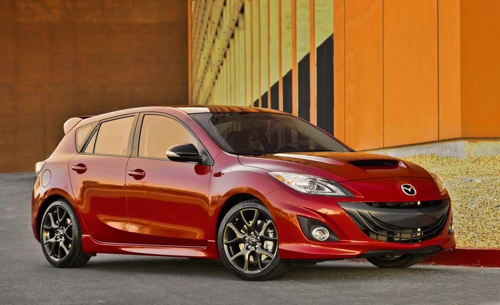 2017 Mazdaspeed 3 (artist's rendering) Pictures Mazda