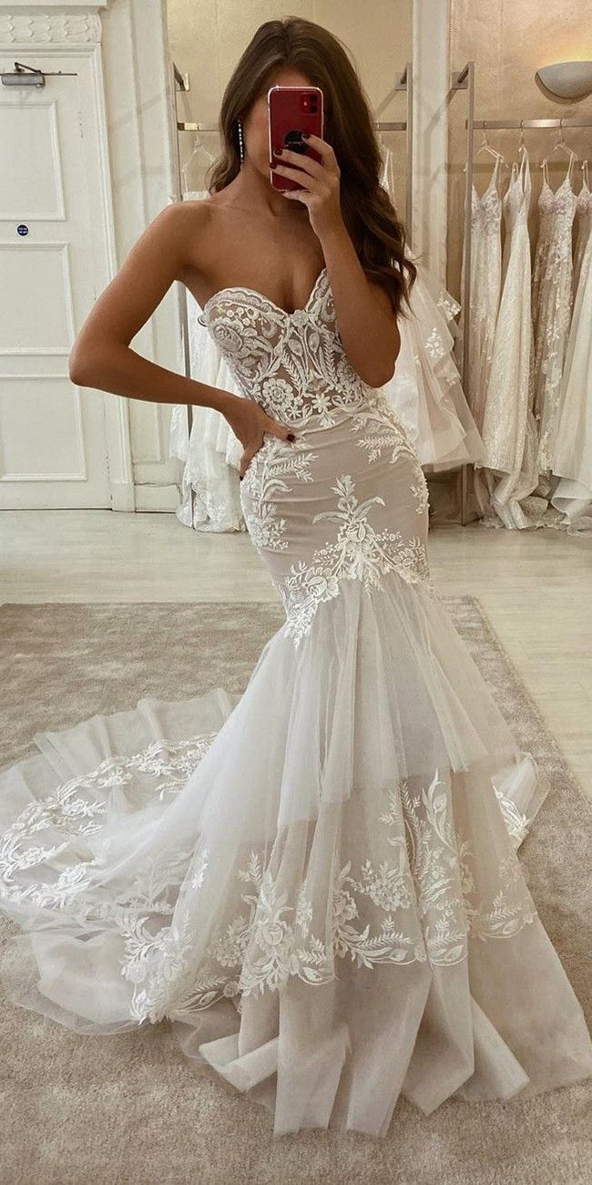 28 Lace Wedding Dresses from eleganza sposa - Oh The Wedding Day Is Coming