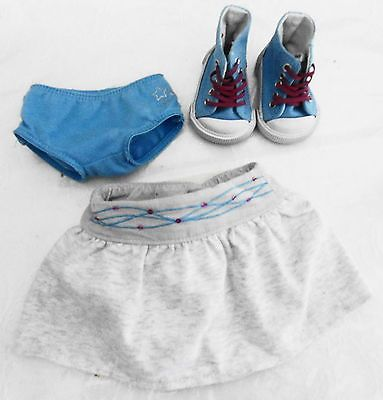 2008 American Girl Doll Mia Retired Meet Outfit:Skirt High Top SneakersPanties https://t.co/4OwiYIkRjr https://t.co/pG2Ost9YeU